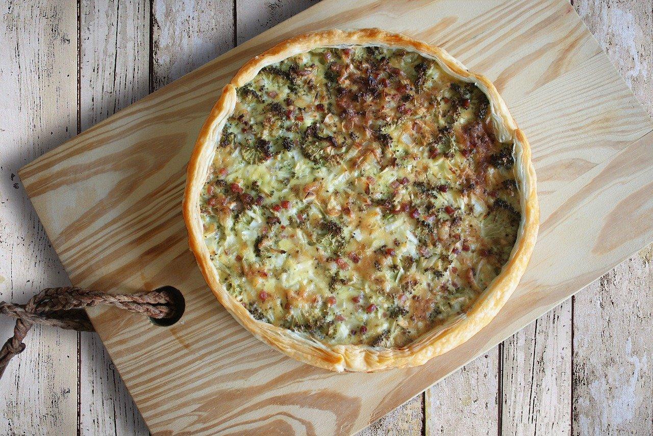 savory pie sample