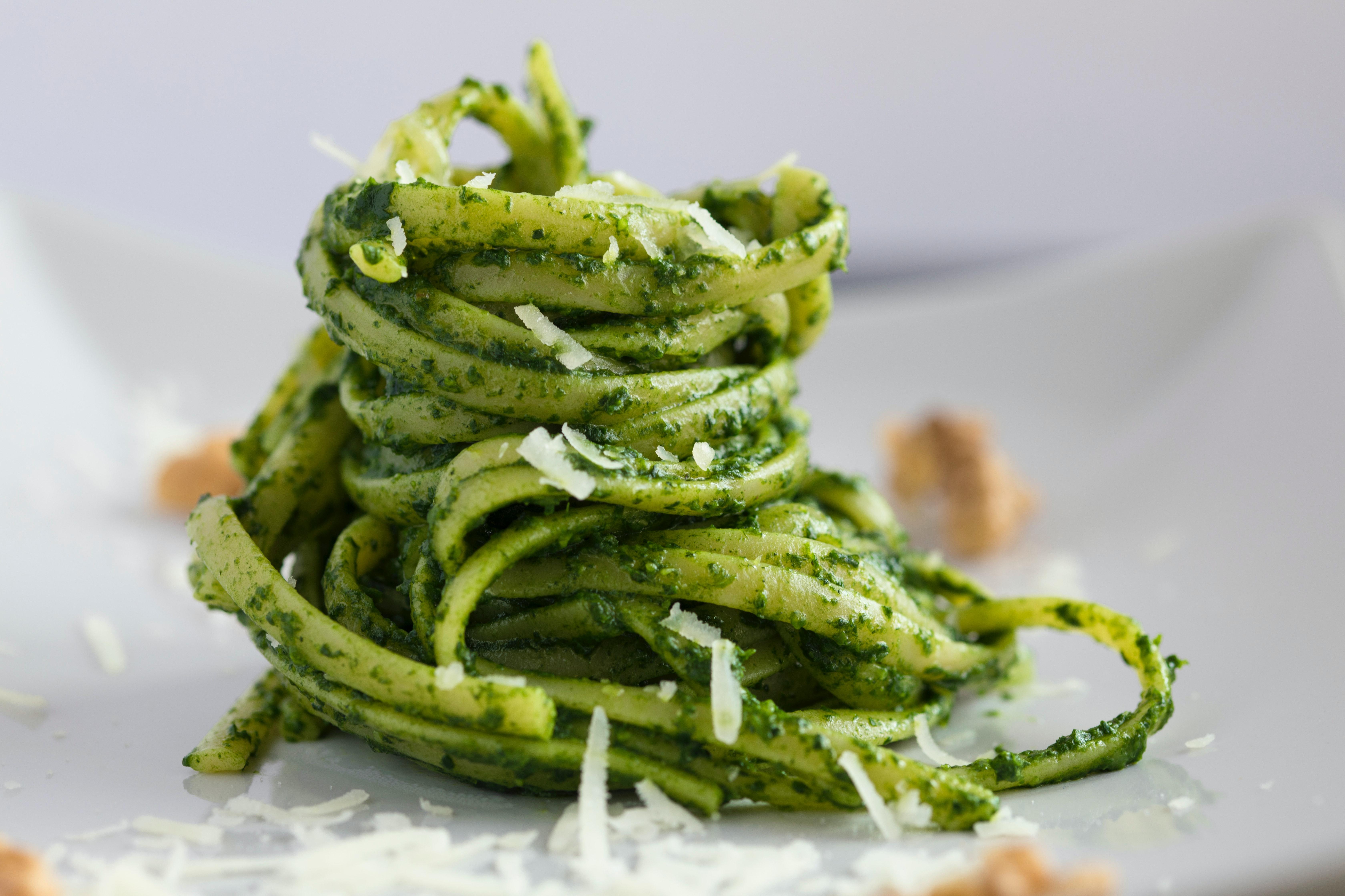 online cooking classed linguine pesto