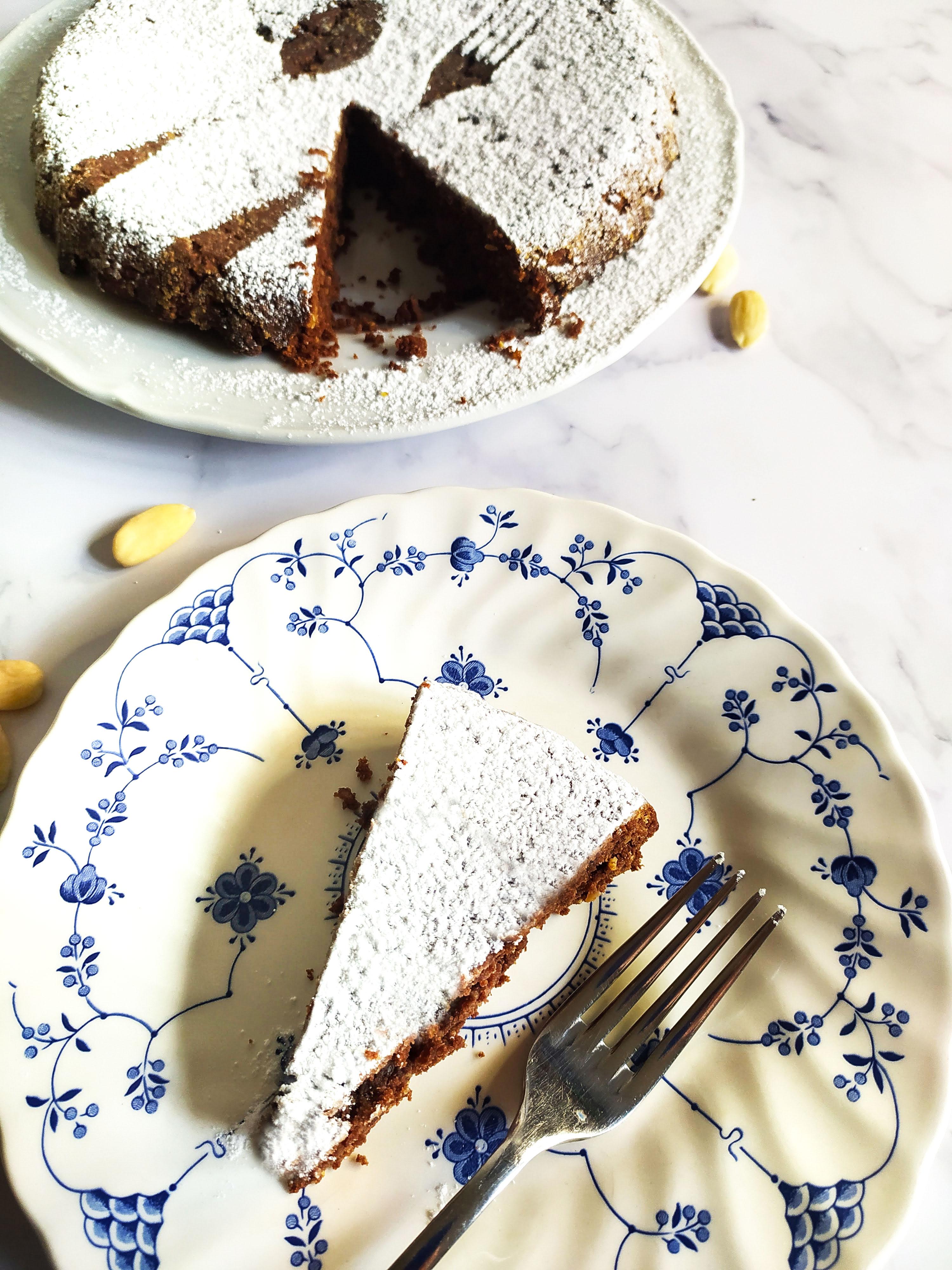 flourless chocolate almond cake torta caprese