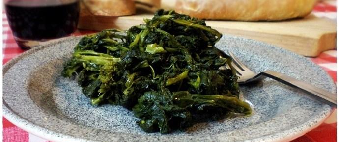 Friarielli in padella ricetta contorni
