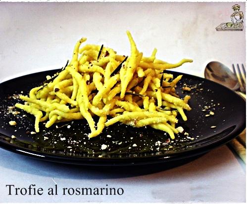 Trofie al rosmarino ricetta primi piatti