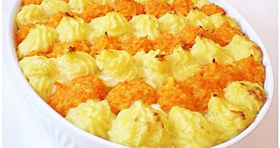 Gateau di patate e carote