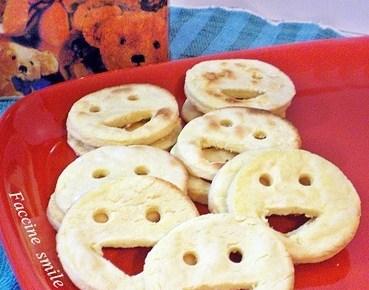 Faccine smile di fiocchi di patate