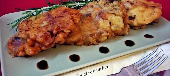 Pollo fritto in pastella al rosmarino