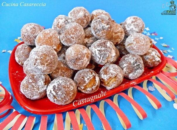 Castagnole ricetta dolci