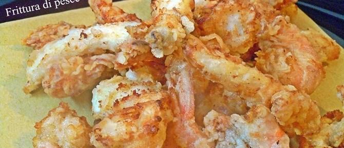 Pesce fritto scuola di cucina