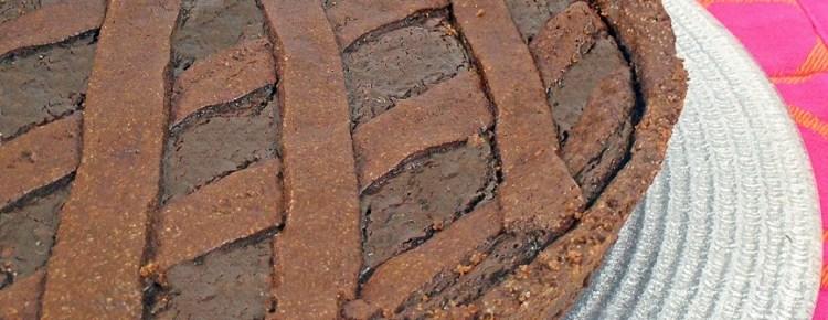 Crostata al cioccolato di Knam