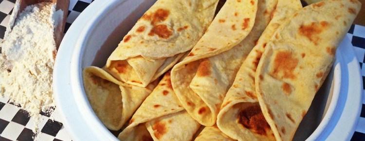 Tortillas di farina bianca