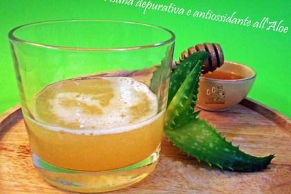 Tisana depurativa e antiossidante all'aloe