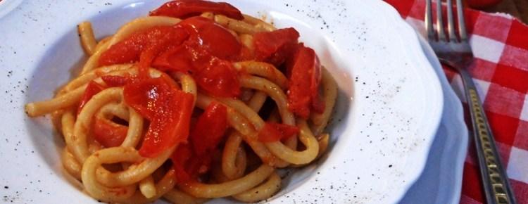 Pici all'aglione ricetta primi piatti