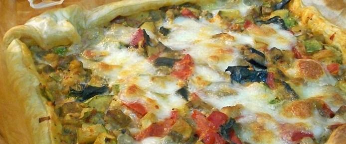 Pasta sfoglia mediterranea
