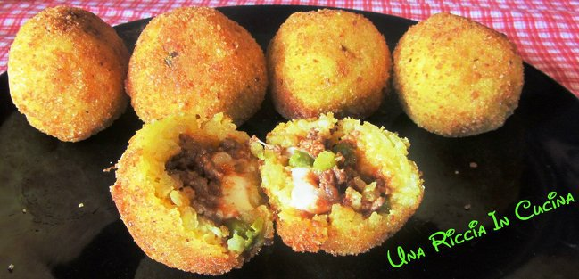 Arancini ricetta finger food