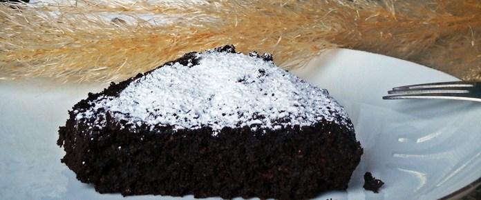 Dolce di polenta al cioccolato