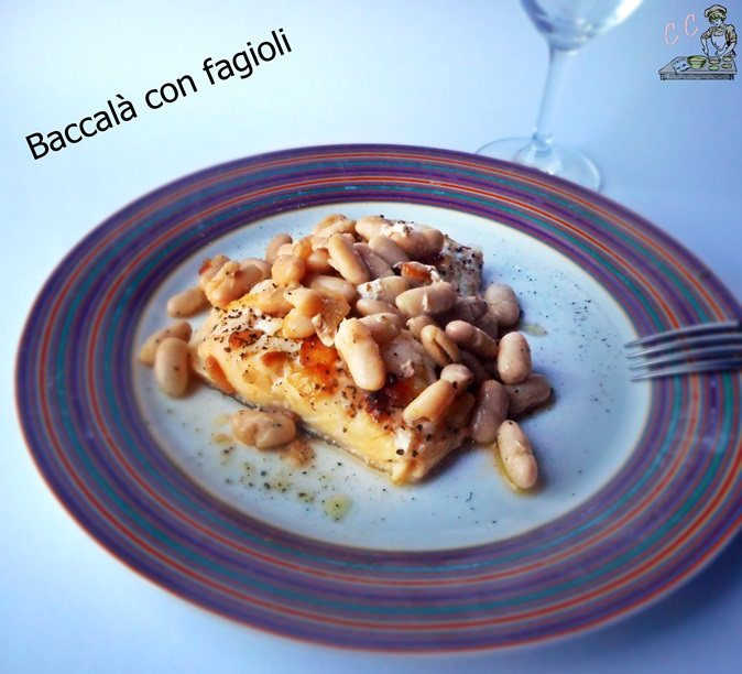 Baccalà con fagioli