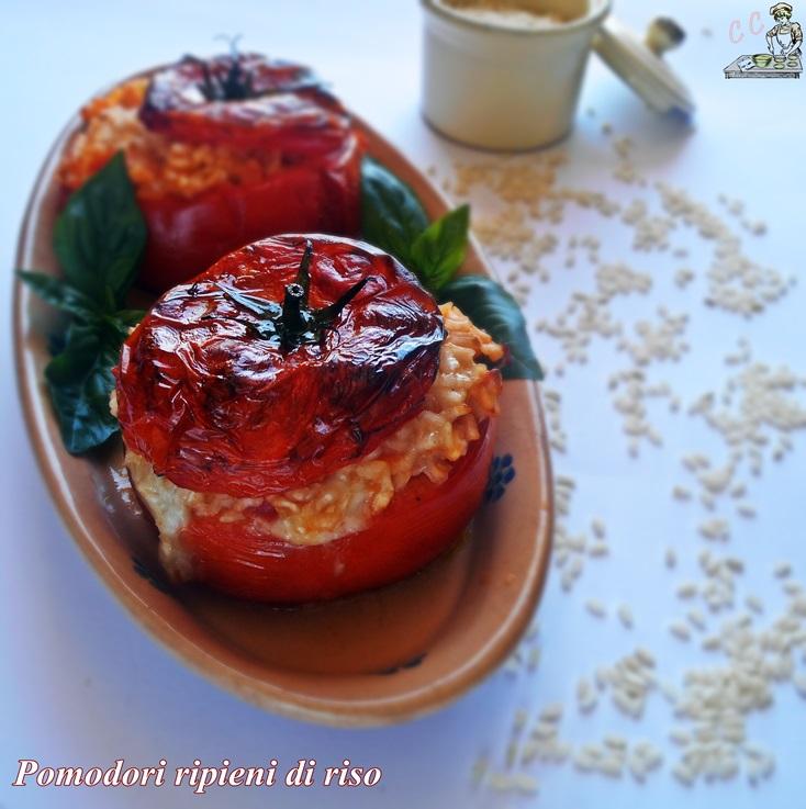 Pomodori ripieni di riso