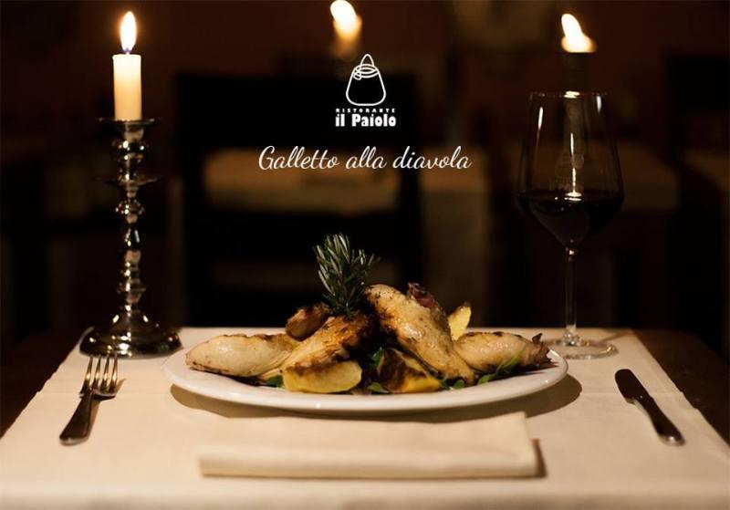 ll Paiolo per una cena a lume di candela