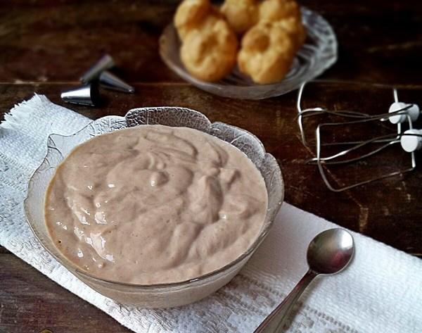 Crema pasticcera con farina di castagne senza glutine