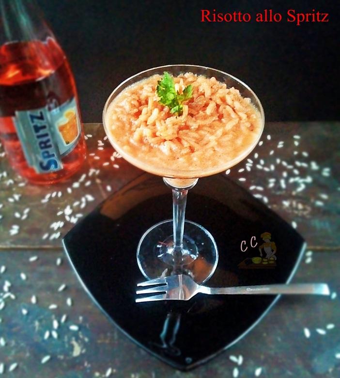 Risotto allo Spritz primo piatto semplice  ricco di gusto