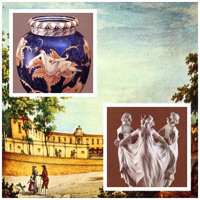 Gli altri piatti di Sesto Fiorentino, quelli di porcellana