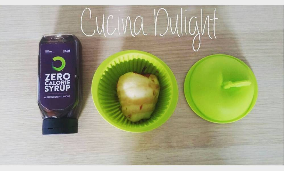 @bulkpowders_it #apple #microwave #syrup #goodmorning #breakfast #summer #healthy #food #lightfood #diet #dukan #vividulight #mela