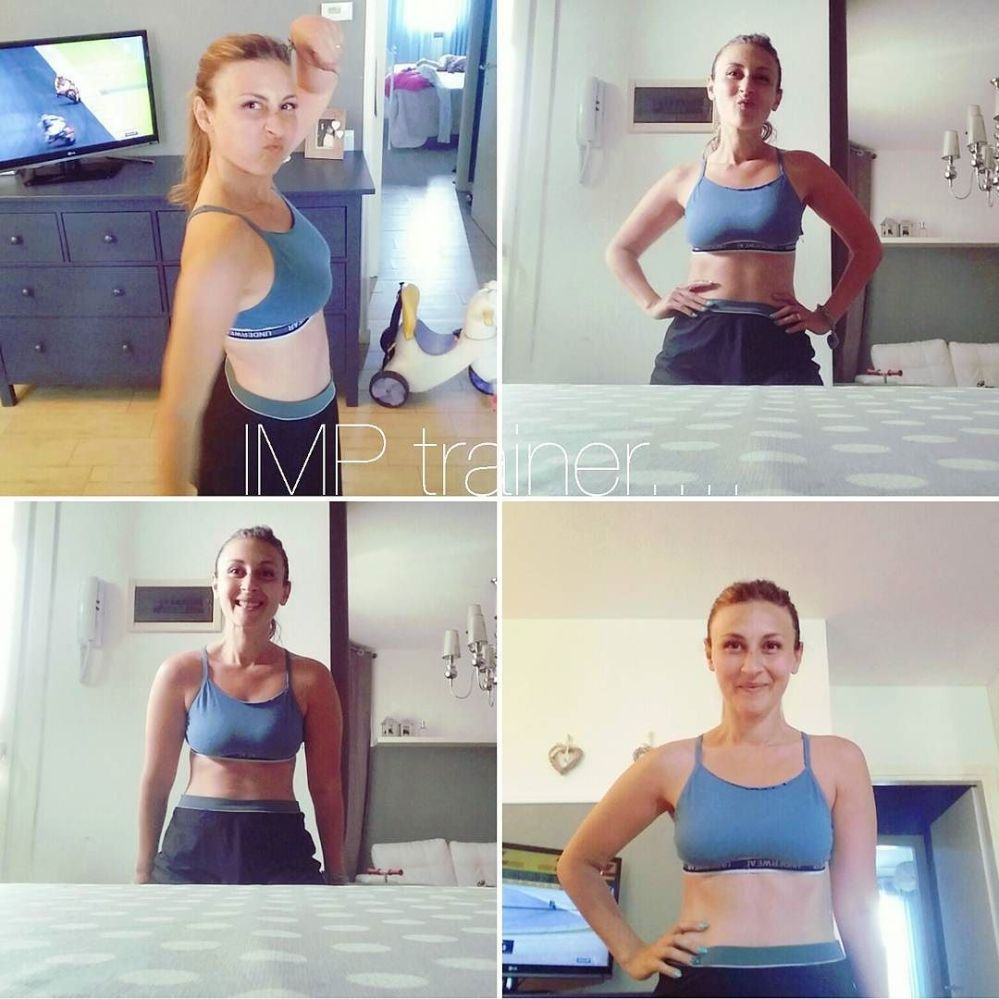 @ivanmatteopederbelli #imptrainer #addominali #piuomeno #allenamento #workout #weightloss #diet #dukan #vividulight #sport #fitness #home #healthy