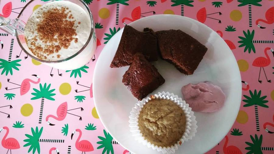 #goodmorning #food #lightfood #dukan #diet #bodyrevolution #weightloss #newlife #cake #cupcakes #chia #coffee #bimby #spumone #tiger #pinkflamingo #vividulight #cucinadulight #youtubechannel