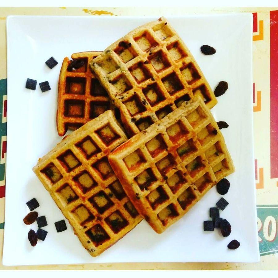 #dulight #cucinadulight #dukan #diet #dukandiet #dietadukan #waffles #waffle #lowcarb #healthy #healthyfood #chocolate #raisins #cinnamon #breakfast #lowfat