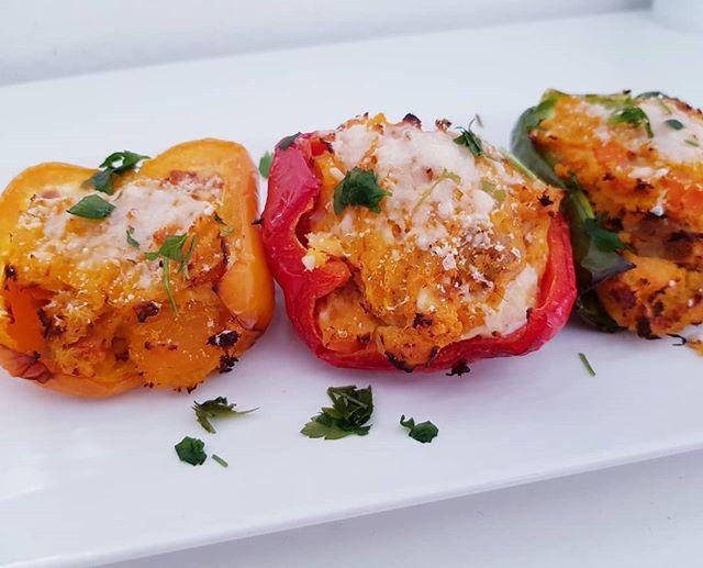 #peperoni #ripieno #salmone #tonno #fishburger #tuna #dukan #diet #dietadukanitalia #fitness #light #bresciafood #benessere #contorno #food #chef #quartafase #red #green #yellow #cucinaproteica #cucinadulight