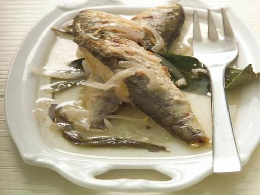 Boghe a scabeccio (Boghe marinate)