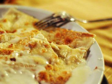 Fugassa co formaggio de Arensen (Focaccia col formaggio di Arenzano)
