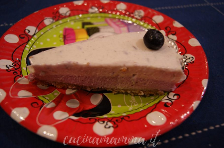 Cheesecake lavanda e mirtilli - by Roberta
