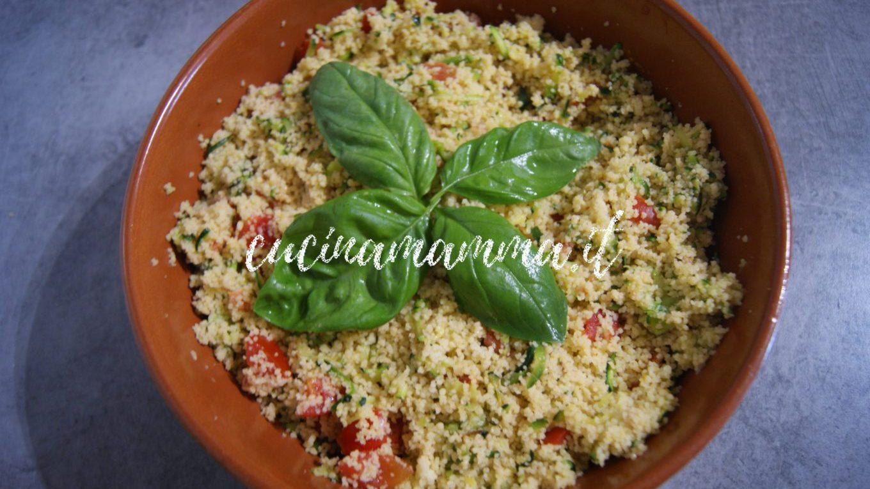 Couscous zucchine e pomodorini