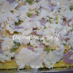 Lasagna cotto e zucchine