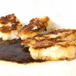 Filettini di pesce spada all'aceto balsamico