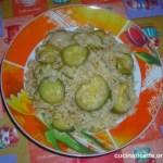Risotto con zucchine e cipolle