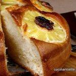 Torta rustica con ananas