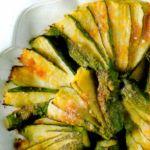 Zucchine a ventaglio