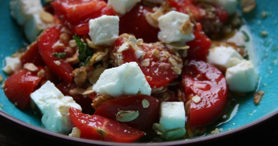 insalata pomodori e feta