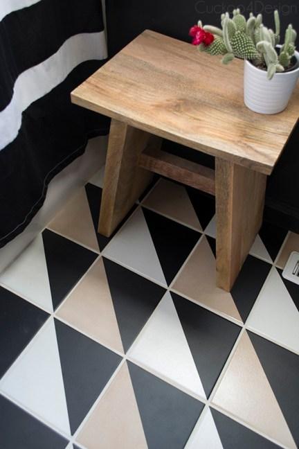 DIY barato y sencillo para cambiar el suelo
