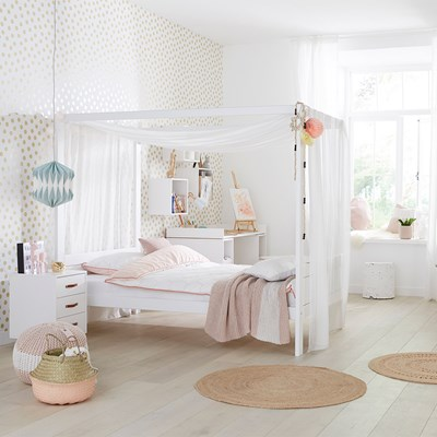 Lifetime Dreams Luxury Four Poster Canopy Bed Lifetime Cuckooland