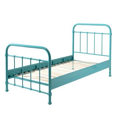 New York Metal Kids Bed In Mint Kids Beds Cuckooland