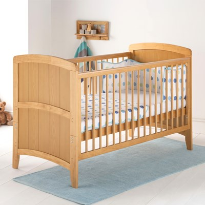 Are antique baby beds made of wood or iron safe for use in the nursery? east coast baby toddler cot bed in antique venice design