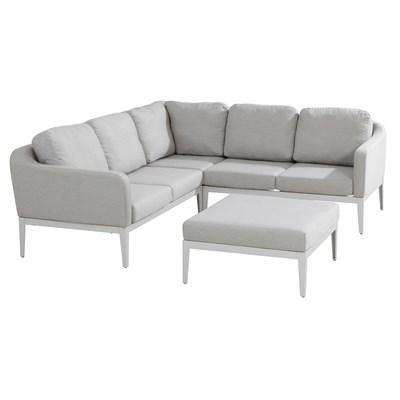 Wonderful Almeria Modular Outdoor Corner Sofa By 4 Seasons Garden Tabl