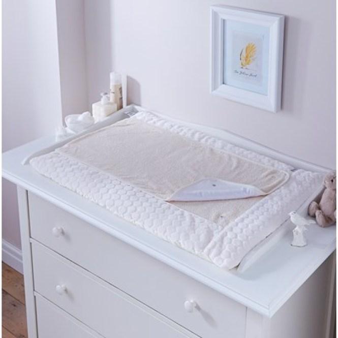 Cream Baby Changing Mat Marshmallow Design Jpg