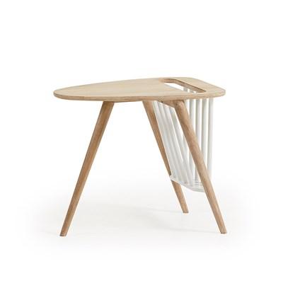 haka side table with magazine rack