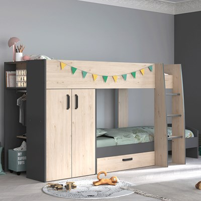 parisot stim 2 kids bunk bed