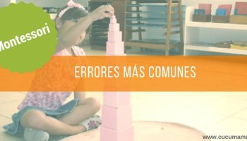 Errores Montessori