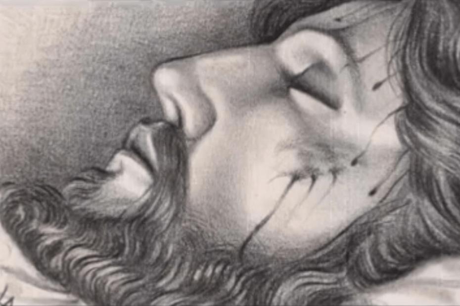 restauracion cristo yacente del calvario
