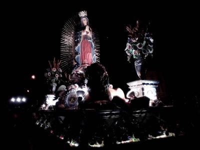 consagrada imagen de la virgen de guadalupe del santuario de guadalupe, zona 1 de la Ciudad