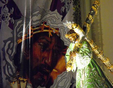 Jesús de Candelaria en el templo